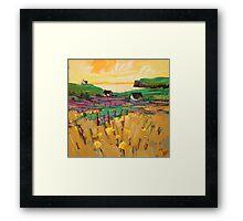 Skye Headland Framed Print