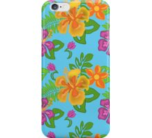 Hawaiian Tropical Pattern iPhone Case/Skin