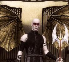 Vampir, Lord of the Night Sticker