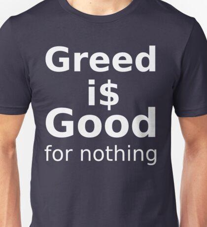 Good For Nothing - White Lettering, Funny Unisex T-Shirt