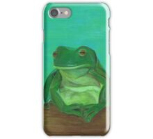 Lazing By The Pool iPhone Case/Skin