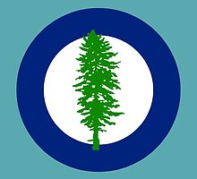 Cascadian Doug Roundel by threetails