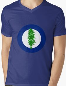 Cascadian Doug Roundel Mens V-Neck T-Shirt