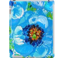 Himalayan Blue: Poppy Painting by Alma Lee iPad Case/Skin