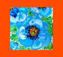 Himalayan Blue: Poppy Painting by Alma Lee Unisex T-Shirt