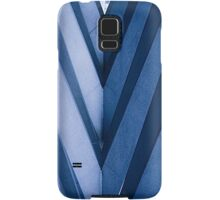 Abstract Architecture in Blue II Samsung Galaxy Case/Skin