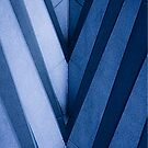 Abstract Architecture in Blue II by Buckwhite
