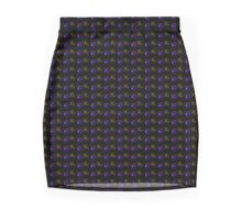 neonflash abstract art fabrics Play to win 1 Mini Skirt