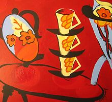 Oops. Ode to Clarice Cliff. by Jane Hoggard