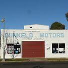 Dunkeld Motors by Joan Wild