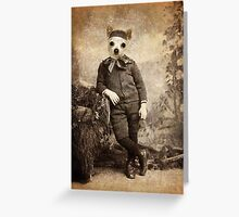 Great-Uncle Casperson Greeting Card