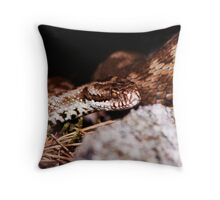 Viper #2 Throw Pillow