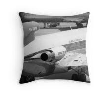 Retro Airline Throw Pillow