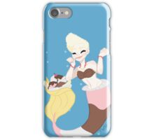 Dessert mermaid: Banana split iPhone Case/Skin