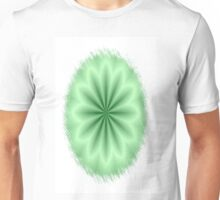 Green Abstract Star Unisex T-Shirt