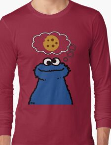 Cookies On My Mind Long Sleeve T-Shirt