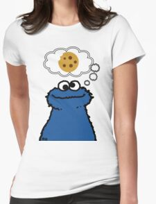 Cookies On My Mind Womens Fitted T-Shirt