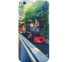 Disneyland railroad  iPhone Case/Skin
