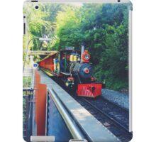 Disneyland railroad  iPad Case/Skin