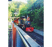 Disneyland railroad  Photographic Print