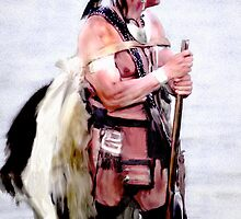 Indian Trapper by Dennis Barr