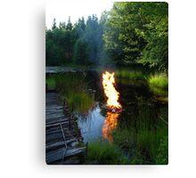 Air Water Earth & Fire Canvas Print