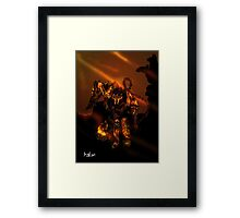 Whos Next! Framed Print