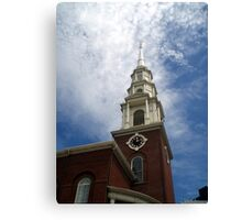 Park St. Church Canvas Print