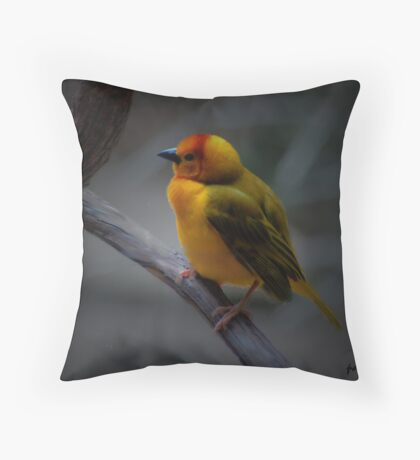 THE YELLOW ONE Throw Pillow