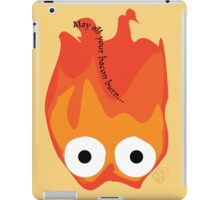 Calcifer's Curse Variant iPad Case/Skin