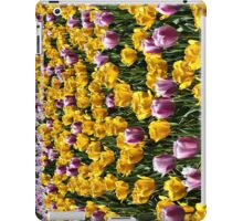 Field of tulips iPad Case/Skin