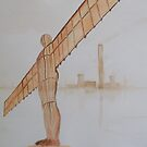 Angel of the North!! by Alan Harris