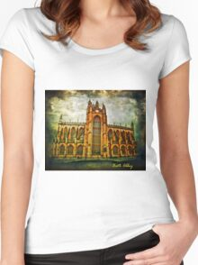 Bath Abbey Women's Fitted Scoop T-Shirt
