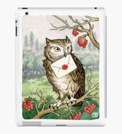 Owl Post iPad Case/Skin