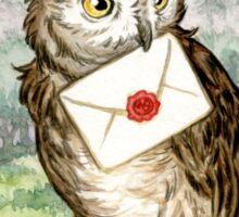 Owl Post Sticker