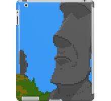Pixel Moai iPad Case/Skin