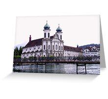 Wonderful Switzerland VI Greeting Card