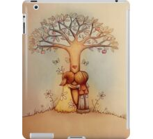 underneath the apple tree iPad Case/Skin