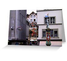 Luzern - Lucerne II Greeting Card
