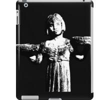 Little Birdbath Girl iPad Case/Skin