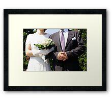 Wedding Gothic Framed Print