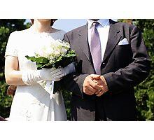Wedding Gothic Photographic Print