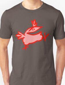 """Wowza!!"" Cartoon Bird by Cheerful Madness!! T-Shirt"