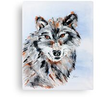 She Wolf - Animal Art by Valentina Miletic Canvas Print