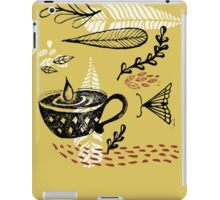 the cup and the moth iPad Case/Skin