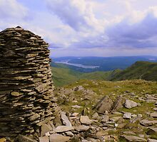 The Lake District: High Bakestones Cairn by Rob Parsons