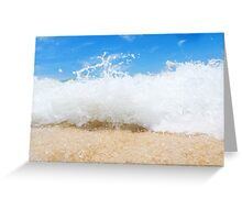 Dominican Surf Greeting Card