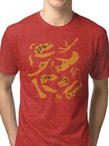Dinosaur Bones Tri-blend T-Shirt