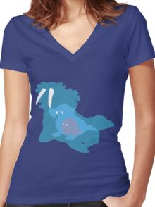 The Walrus Women's Fitted V-Neck T-Shirt