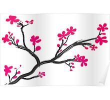 Cherry Branch Poster